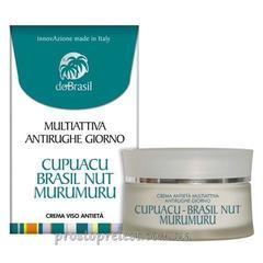 Dobrasil crema multiattiva antirughe giorno-Дневной мультиактивный крем для лица с маслом купуасу, мурумуру, бразильского ореха