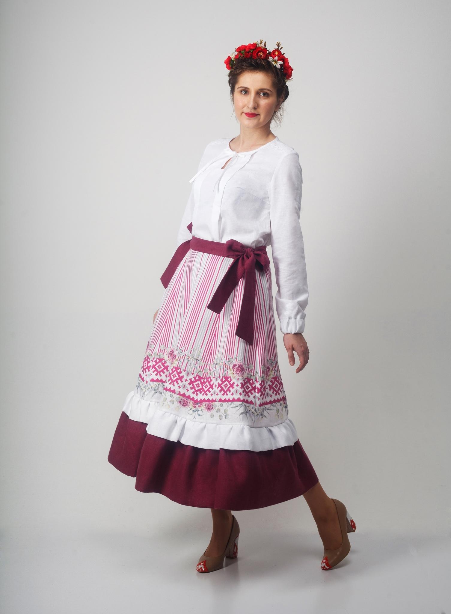 Блуза Самоцветы Хрусталь с Юбкой Хозяйка тайги