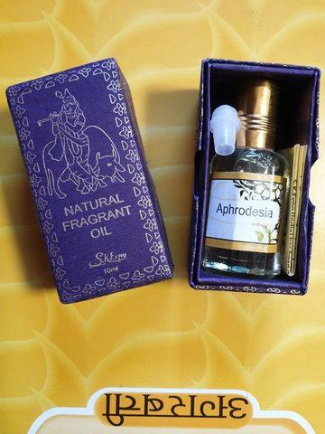 Масло парфюмерное Афродезия 10 мл с роликом, Magic of India (Индия)