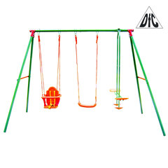 Качели тройные SWING AND GLIDER SET DFC SGN-03 297 x 155 x 200 см