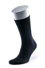 Носки мужские MS 04/0  80 мерс/20 п/а черн., 49-52 больших размеров марки Делфино