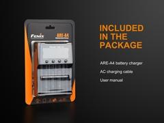Зарядное устройство Fenix ARE-A4 (Li-ion, Ni-MH, Ni-Cd)