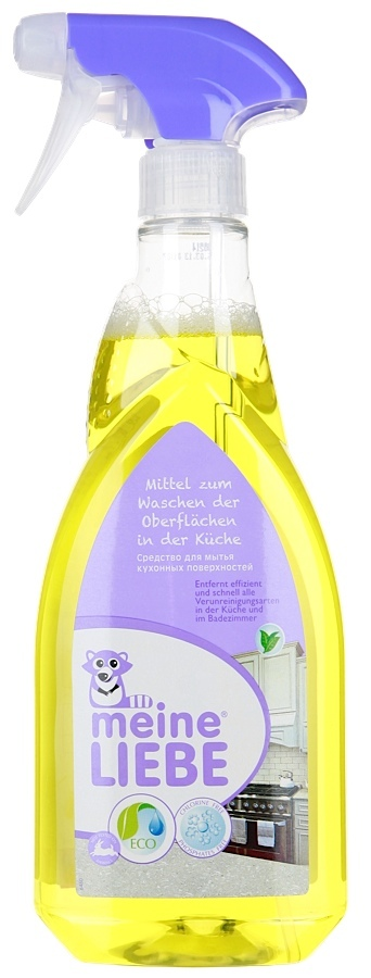 Средство, MEINE LIEBE, для мытья кухонных поверхностей, 750 мл