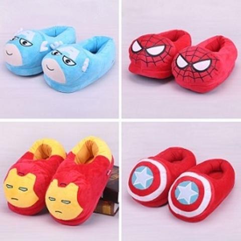 Slippers Plush Super Heroes