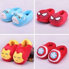 Slippers Plush Super Heroes