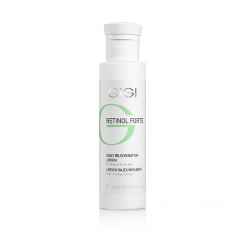 Gigi Retinol Forte Daily Rejuvenation Lotion for normal to dry skin, Лосьон-пилинг для нормальной и сухой кожи, 120 мл.