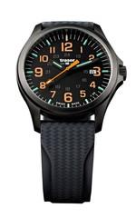 Швейцарские тактические часы Traser P67 OFFICER PRO Gunmetal Black/Orange 107872