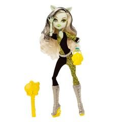Mattel Monster High Кукла Фрэнки Штейн из коллекции «Монстрические мутации» (CBP35)