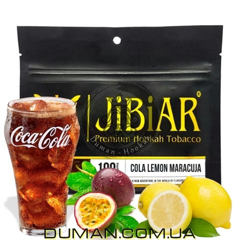 Табак JiBiAR Cola Lemon Maracuja (Джибиар Кола Лимон Маракуйя)