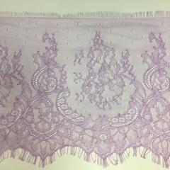 Кружево Тонкое шантильи Lilac