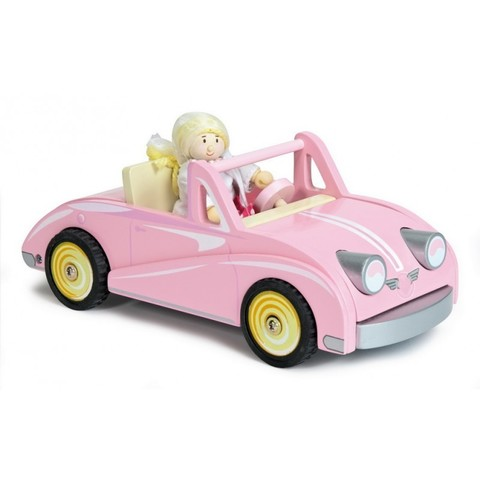 Машинка для девочки Купе Хлоэ, с куклой, LeToyVan