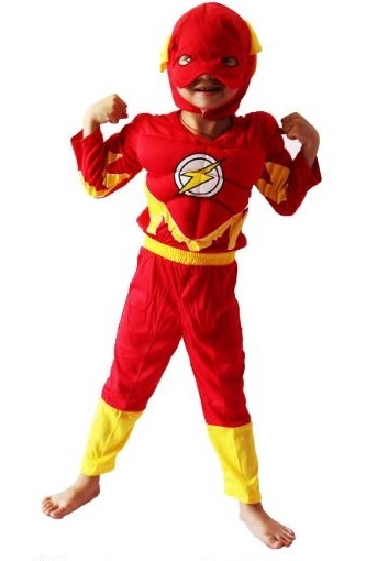 Флэш костюм детский