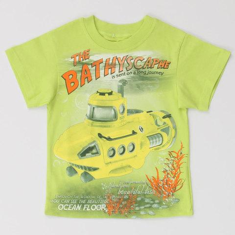 Basia Н002 Футболка для мальчика лайм