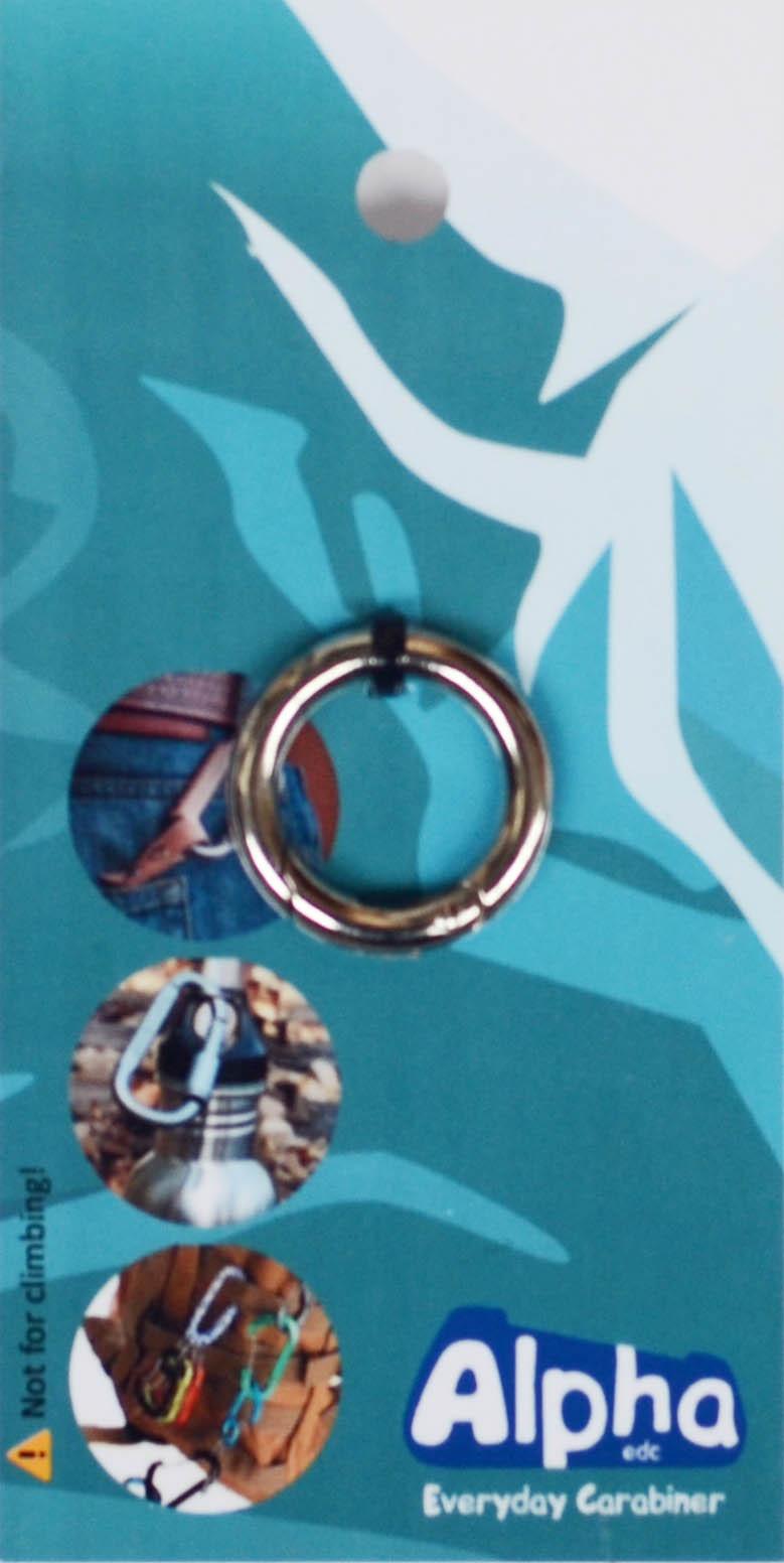 Карабин кольцо Alpha EDC