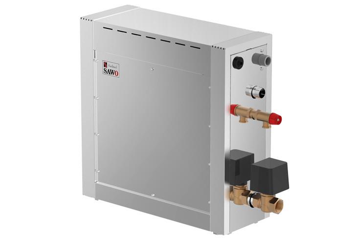 Парогенераторы: Парогенератор SAWO STN-45-1/2-X (без пульта управления, 4,5 кВт)