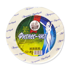 """Сыр """"Фитнес-чиз"""" (12% жир), 500 гр"""