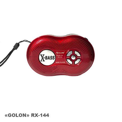 Портативная колонка Golon RX-144 MP3/FM/MicroSD/USB