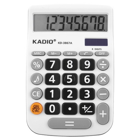 Калькулятор № 3867A-8