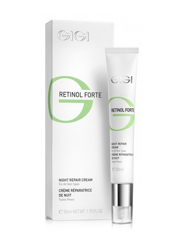 Gigi Retinol Forte Night Repair Cream, Ночной восстанавливающий крем для всех типов кожи, 50мл.
