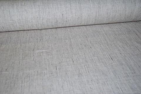 Льняная римская штора Кларин рельсы