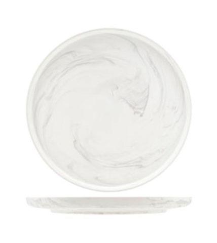 Тарелка 25 см Roomers Marble Grey