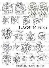 Слайдер-трафареты для объемного дизайна T-004