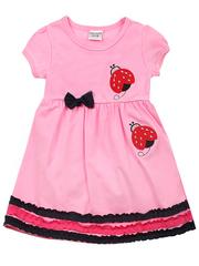 NO519-4 платье детское, розовое
