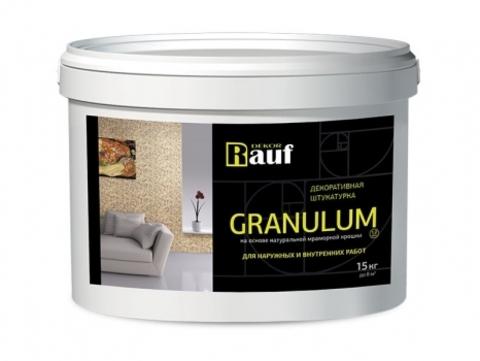 Rauf Dekor GRANULUM декоративная мраморная штукатурка