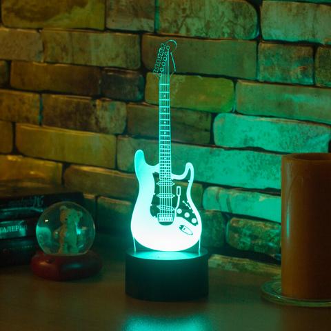 Лампа Электрогитара