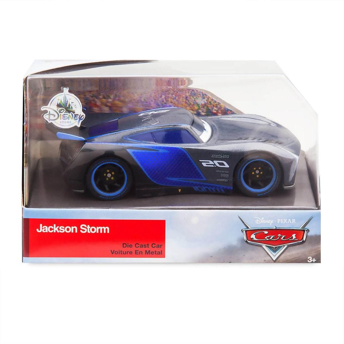 Машинка Джексон Шторм (Jackson Storm) 12 см Тачки Дисней
