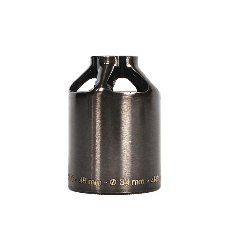 Пега для самоката ETHIC Steel Pegs 48mm (Transparent Black)