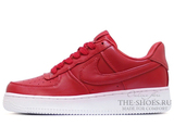 Кроссовки Женские Nike Air Force 1 Low Leather Red