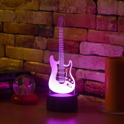 3D ночник Электрогитара
