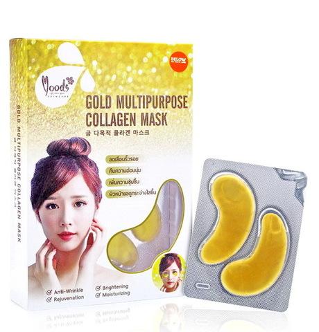 Коллагеновые патчи под глаза Moods Gold Multipurpose Collagen Mask Belov