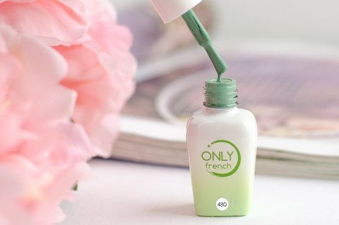 Гель-лак Only French, Green Touch №480, 7ml