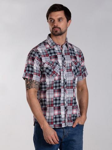 Рубашка к/р муж.  M012-01B-11CS SAHARA