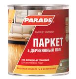 Лак паркетный алкидно-уретановый PARADE L10