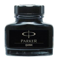 Флакон с чернилами Parker для перьевой ручки Z13 цвет: Black, S0037460