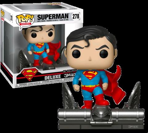 Фигурка Funko POP! Deluxe: DC: Superman on Gargoyle (Jim Lee) (Exc) 34072