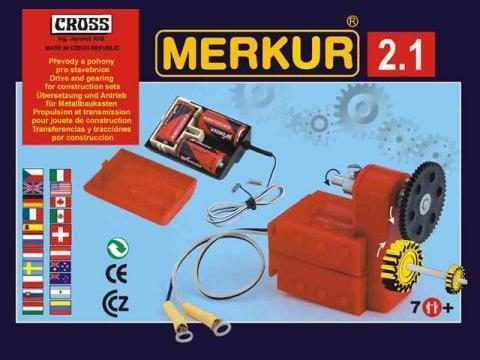 Merkur М-3222 Металлический конструктор Приводы и передачи M 2.2