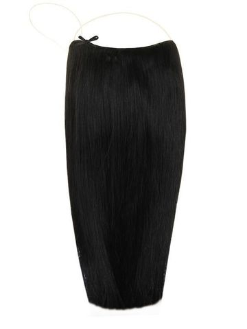 Волосы на леске Flip in- цвет #1- длина 60 см