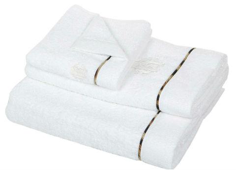 Набор полотенец 2 шт Roberto Cavalli Basic белый