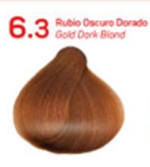 6.3 темный золотистый блондин. Краситель для волос с эффектом лифтинга KV-1