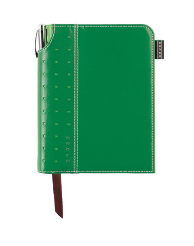 Записная книжка Cross Journal Signature A6, 250 страниц в линейку, ручка 3/4 в комплекте. Цвет -  зе