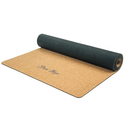 Пробковый коврик для йоги Hamsa 183*61*0,3см