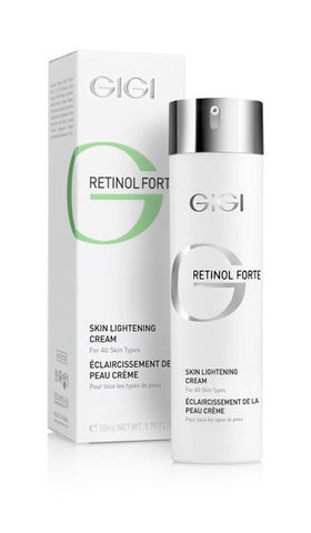Gigi Retinol Forte Skin Lightening Cream, Отбеливающий крем, 50 мл.