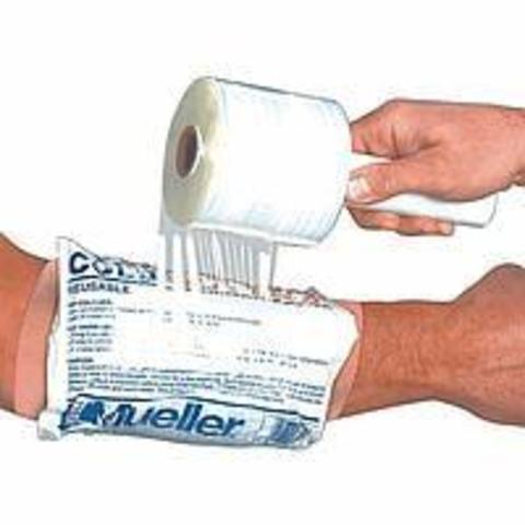 Оберточный материал Пленка для закрепления компрессов (Граната) 11.0см х 300м