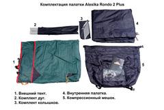 Туристическая палатка Alexika Rondo 2 Plus