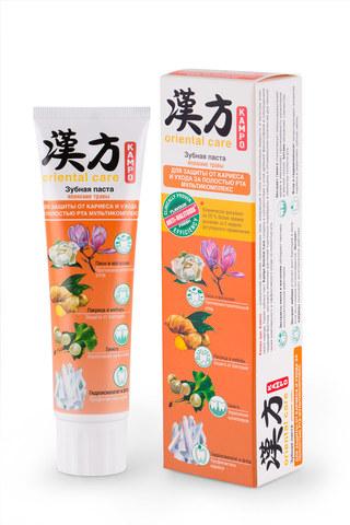Modum Kampo Oriental Care Паста зубная Японские травы для защиты от кариеса и ухода за полостью рта Мультикомплекс 100г