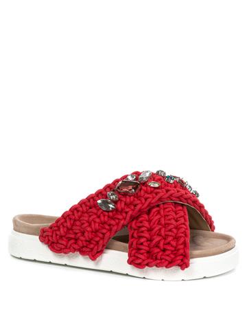 Шлепанцы INUIKII 70104-6 red